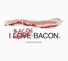 I Bacon Bacon One Piece - Short Sleeve