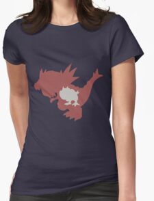 PKMN Silhouette - Tyrunt Family Womens Fitted T-Shirt