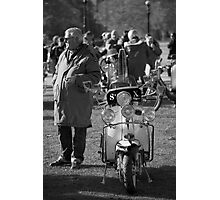 Mods remembrance Meeting  Photographic Print