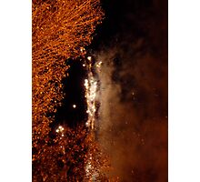 Guy Fawkes Fireworks | Notting Hill, London Photographic Print