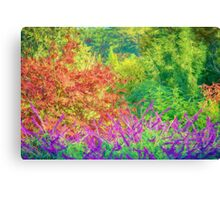Glorious Garden    (PK) Canvas Print