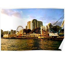 Fun fair in Sydney, Australia  Poster