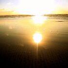 Girl in the sunset-warm by SusieMcLaren