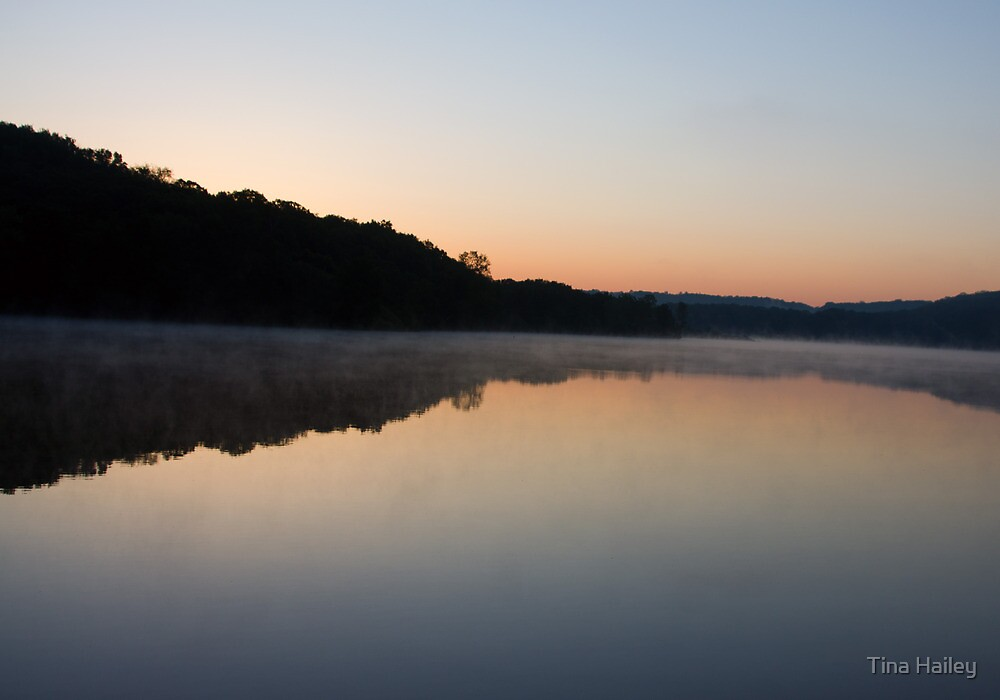Sunrise At Willow State Park by Tina Hailey