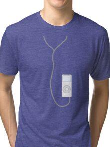 ipod white Tri-blend T-Shirt