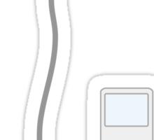 ipod white Sticker