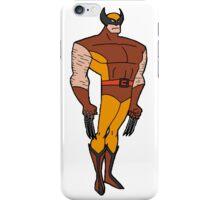Bruce Timm Style Wolverine iPhone Case/Skin