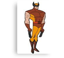 Bruce Timm Style Wolverine Canvas Print