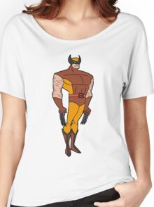 Bruce Timm Style Wolverine Women's Relaxed Fit T-Shirt