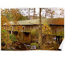 The Covered Bridge Smyrna, GA Poster