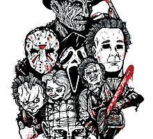 Horror Icons by ArtOfOldSchool