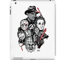 Horror Icons iPad Case/Skin