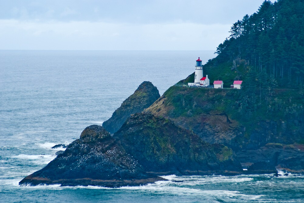 Heceta Head Lighthouse by Bryan D. Spellman