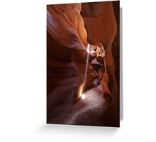 Antelope Canyon 10 Greeting Card