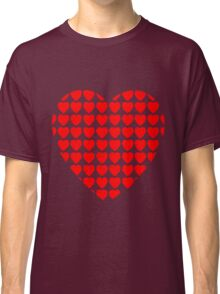 heart of hearts red Classic T-Shirt