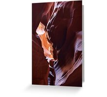 Antelope Canyon 12 Greeting Card