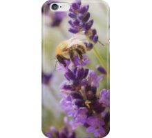 Bee on the Lavender iPhone Case/Skin