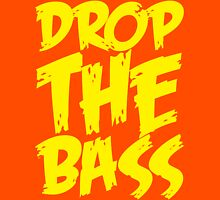 Drop Bass Not Bombs (Yellow)  Unisex T-Shirt