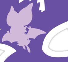 PKMN Silhouette - Noibat Family Sticker