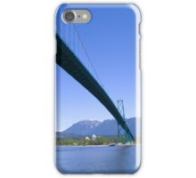 Lions Gate Bridge, Stanley Park, Vancouver iPhone Case/Skin