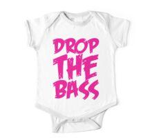 Drop The Bass (Pink) One Piece - Short Sleeve