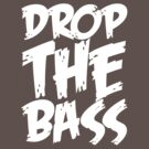 Drop The Bass (White) by DropBass