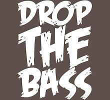 Drop The Bass (White) T-Shirt
