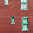 Four Windows and a Wire by Ethna Gillespie