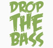 Drop The Bass (Neon) Kids Tee