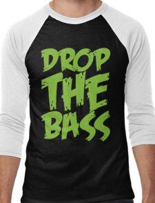 Drop The Bass (Neon) Men's Baseball ¾ T-Shirt