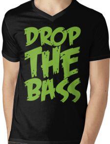 Drop The Bass (Neon) Mens V-Neck T-Shirt