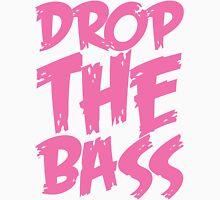 Drop The Bass (Light Pink) Womens Fitted T-Shirt