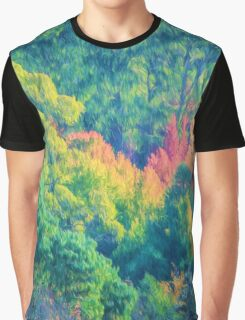 Autumn in the Hills    (PC) Graphic T-Shirt