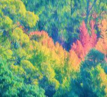 Autumn in the Hills Sticker