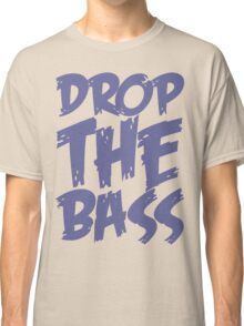 Drop The Bass (Purple) Classic T-Shirt