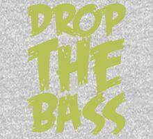 Drop The Bass (Light Neon) Kids Clothes