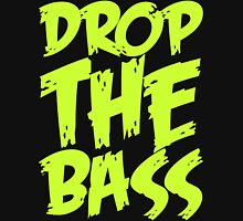 Drop The Bass (Light Neon) Men's Baseball ¾ T-Shirt