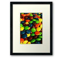 Chocolate Beans Framed Print