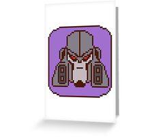Pixel Megatron [Animated] Greeting Card