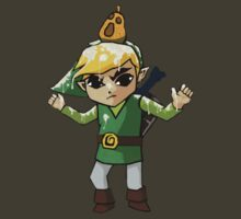 Windwaker Link covered in seagull poo! by astralsid