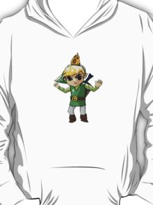 Windwaker Link covered in seagull poo! T-Shirt