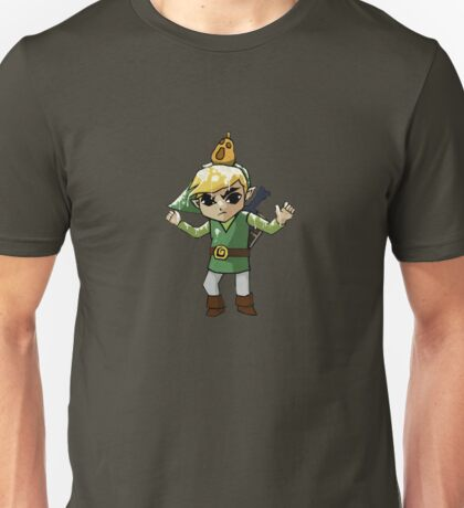 Windwaker Link covered in seagull poo! Unisex T-Shirt