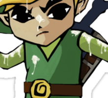 Windwaker Link covered in seagull poo! Sticker