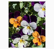 Violas - purple. orange,white Unisex T-Shirt