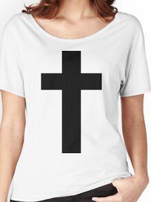 Cross (Faithful to God) Women's Relaxed Fit T-Shirt