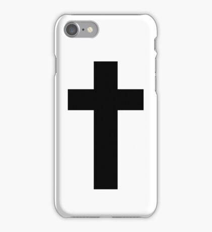 Cross (Faithful to God) iPhone Case/Skin