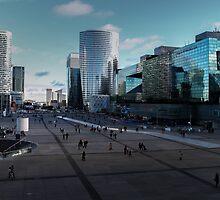 Esplanade de La Défense by SergiWave