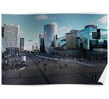 Esplanade de La Défense Poster