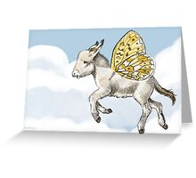 Donkletfly Greeting Card
