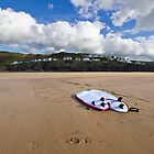 Surfin's over by Andrew Jeffries